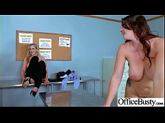 Sex Action In Office With Big Round Tits Slut Girl (Alison Tyler & Julia Ann) vid-02