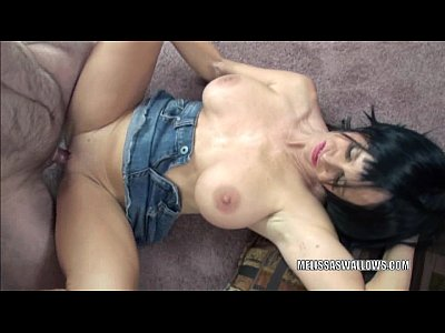 Mature slut Melissa Swallows is riding a stiff cock