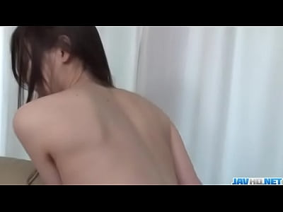 Sensual fuck on the couch with Misaki Yoshimura