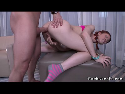 Fuck Anal Teen - Again, try to do anal sex with my little redhead sister