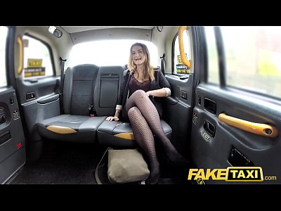 Fake Taxi Deep anal with big bouncy pointy nipples