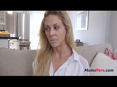 BLACKMAILING mom for some more PUSSY