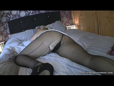 ripped pantyhose milf groped pov