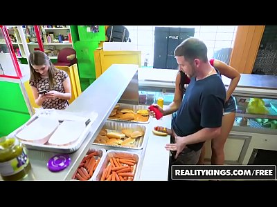 RealityKings – Money Talks – (Adrian Maya) and (Alice March) – Hot Dog Stand