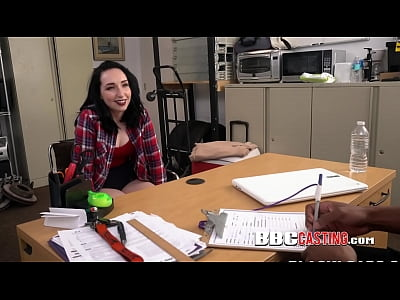 INTERRACIAL hardcore sex with PORN STAR inside OFFICE