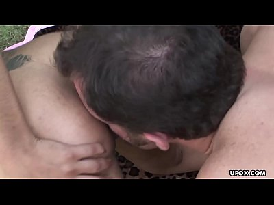 Sucking a fat dick then she gets fucked deep and hard
