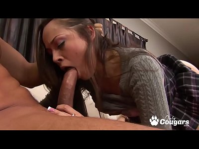 Kristina Rose Rides All Over A Fat Dick