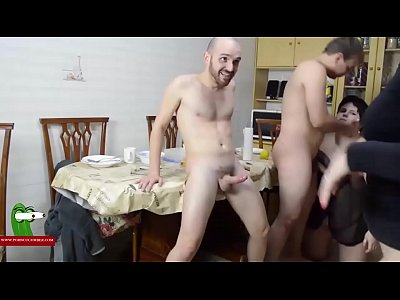 Talking about sex and fucking, two couples. SAN235