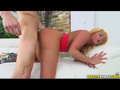 Reality Kings - Blonde Kelly tries porn for first time