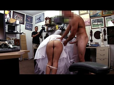 XXX PAWN - Bitter Bride Fucks Pawn Shop Owner After The Groom Cheats