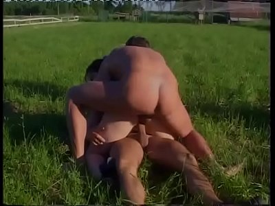 Happy orgy in the park!