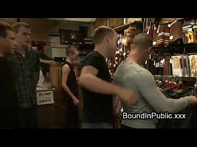 Bodybuilder Gay Fucked In Clothing Store Anal Hardcore Ass Blowjob Butt Fuck Group Humiliation Domination Gangbang Bdsm Fetish Public Bondage Submission Gay Orgy Tied Bound Anally