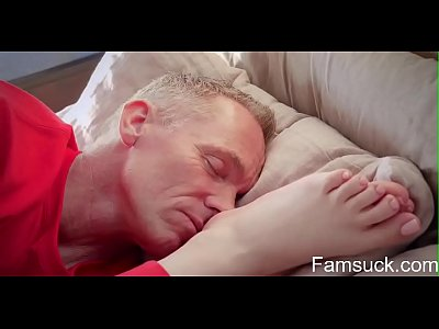 Christmas Morning Sex With My Stepdad |FamSuck.com