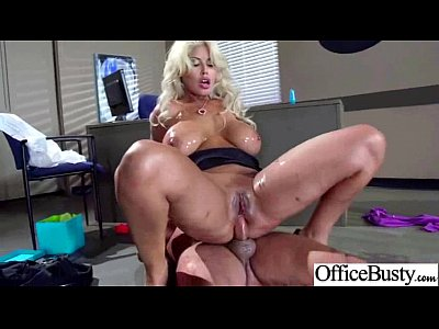 Hot Big Juggs Girl (bridgette b) Hard Banged In Office clip-06