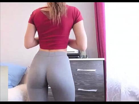 Bubble Butt Blonde Yoga