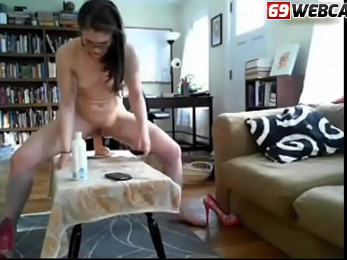 Clip sex Brunette Librarian With Glasses anal masturbation and fist fucking cam