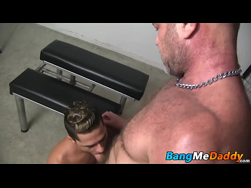 Daddy raw fucks bottom twink bitch