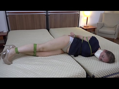 Clip sex Rachel Adams Ambushed, Bound and Tape Gagged in Hotel Room