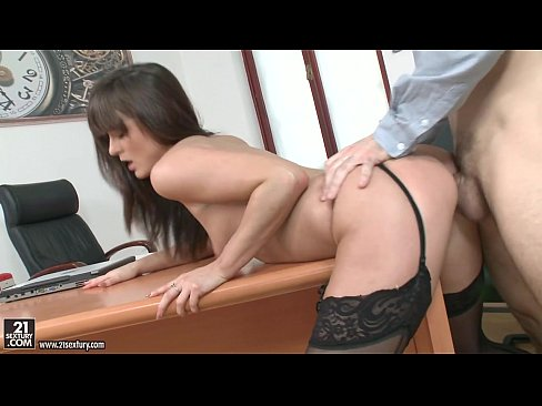 Clip sex Lydia Lust gets assfucked in stockings