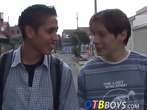 Hung latino twink ass bangs his friend and makes him cum