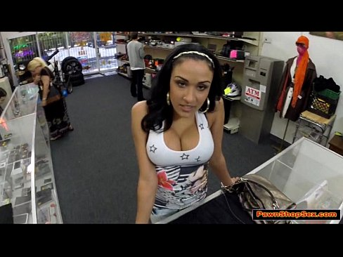 Pawn shop xxx blowjob