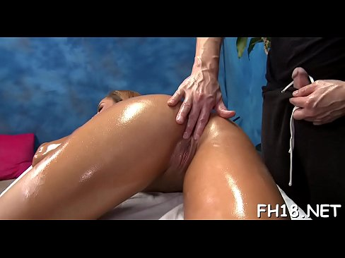 Sexy 18 year old girl gets fucked hard by her massage therapist!