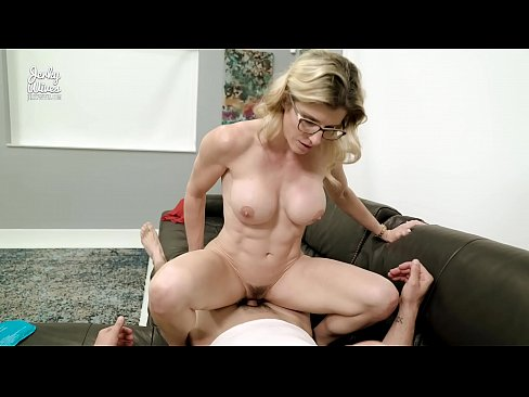 After Gym Massage and Fuck from My Step Mom - Cory Chase