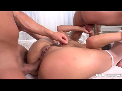 cover video Anal Inspectors  Can T Stop Watching Vicki Cha ching Vicki Chase Being Double Penetrated