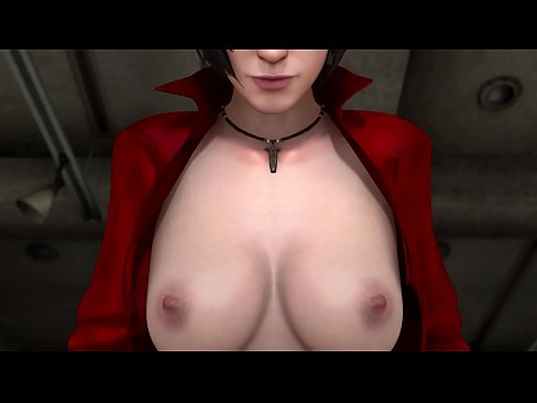 3d hentai big tits babe threesome with 2 guys 8
