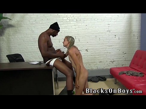 Skater Boy Fritz Gets A Black Cock In His Ass