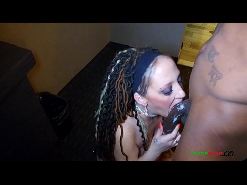 Clip sex Sketchy white slut loses bet has to give black dude a blowjob