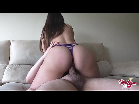I have an Orgasm riding his cock and he cums inside me - Amateur Couple