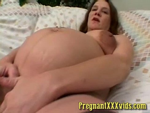 pussy Pregnant mom