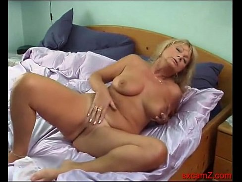 tits big Mature blonde