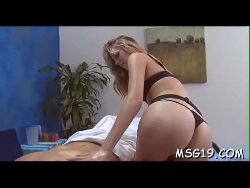 Delicious playgirl in sexy lingerie masturbates and rides cock's Thumb