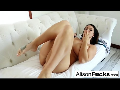 Sexy Solo with Stacked Alison Tyler