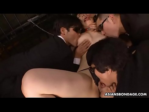 Gangbang wife Submissive asian