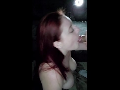 Redhead Babe Gives BJ Gets Massive Facial - Jessica Sage