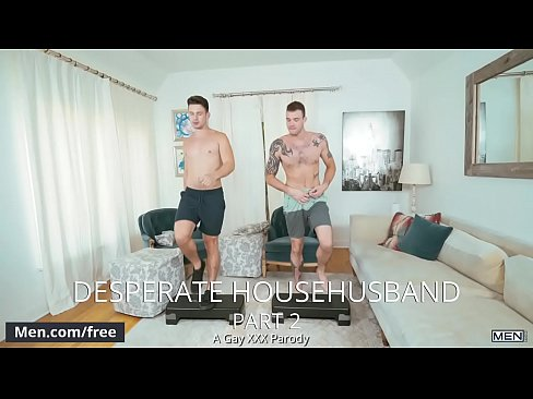 Men.com - (Casey Jacks, Cliff Jensen) - Desperate Househusband Part 2 A Gay Xxx Parody - Str8 to Gay - Trailer preview