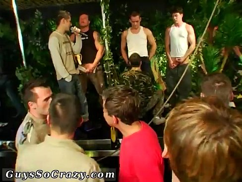 Gay male spanking porn Damon Archer and Jimmy Roman Poolside Wet Fuck's Thumb