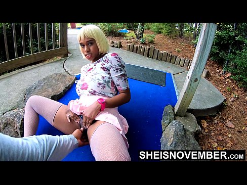 I Have The Best Pussy,  My Ebony Pussy Upskirt On Public Golf Course Cute Wet Pussy Spread In 4k Petite Babe Msnovember Young Best Outdoors aa Pussy on Sheisnovember