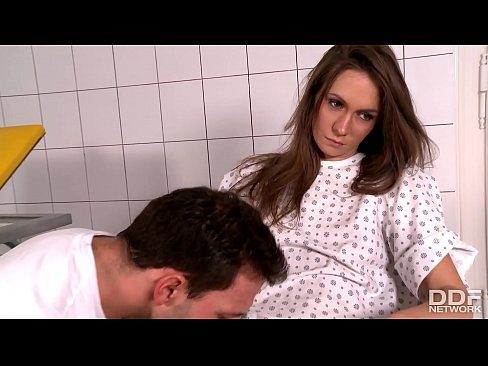 Submissive patient Mika gets her asshole fucked by fetish Doctor
