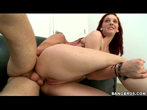 Redhead Fucked in Ass
