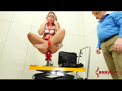 Massive dildo punishment