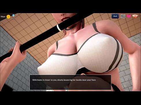 Clip sex 2 - Mythic Manor - Sneaking into ladies bathroom in the gym (dubbing)