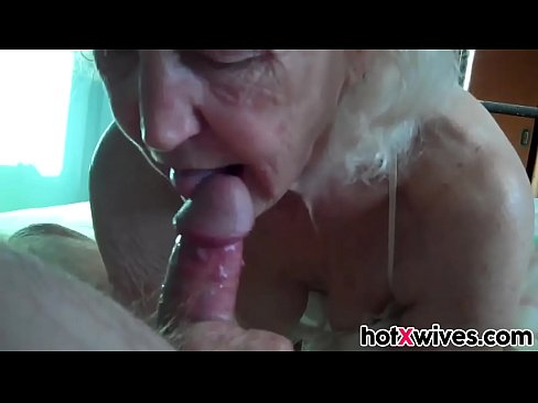 Mature Wife Giving Blow Job