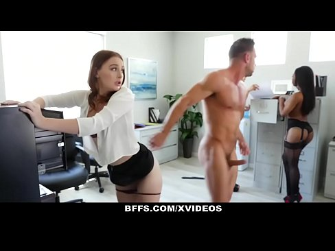 BFFS – Horny Interns Share Cock With Their Boss