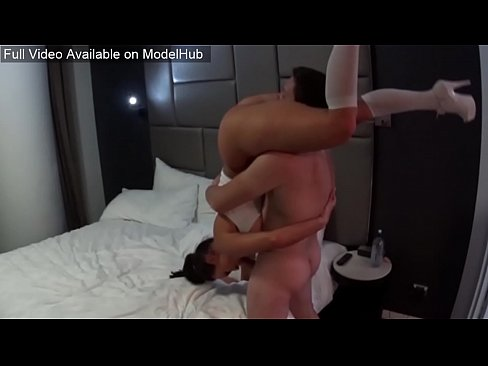 flexible step sister shows off her new tricks!