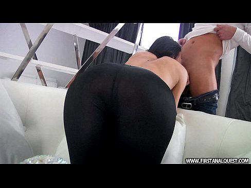 FirstAnalQuest.com – BUTT PORN WITH A SEXY RUSSIAN TEEN IN TIGHT LEGGINGS
