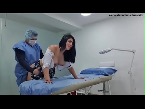 I tease my Doctor and he ends fucking me